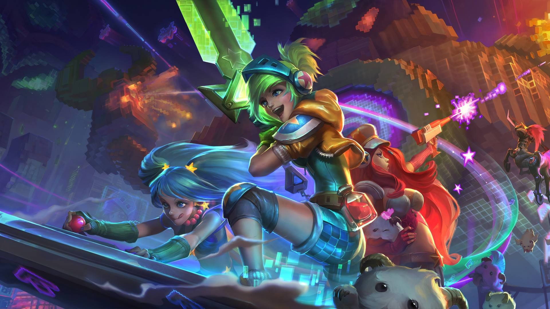 Arcade Skins Hd Wallpaper 1920x1080 Id56157 Play