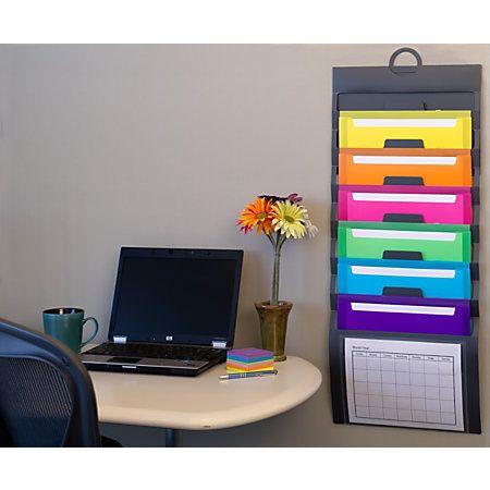 Office Supplies Furniture Technology At Office Depot Wall Organization Organization Hanging Folders