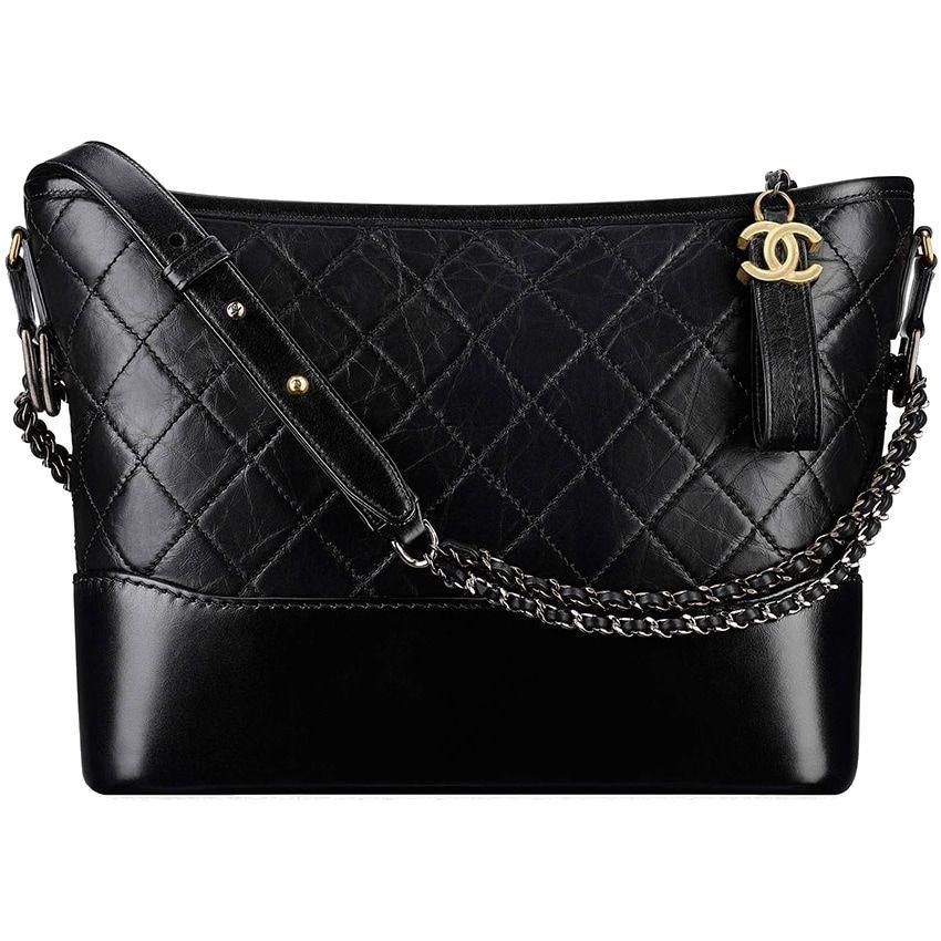d7721ed6863540 Chanel Gabrielle Black Hobo Bag aso Meghan Markle | bags | Bags ...