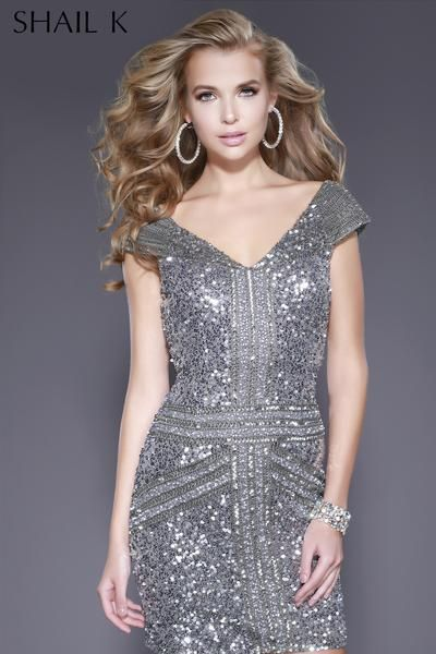 9fb316683d0 21197 Fully Sequin Body Hugging Cocktail Dress