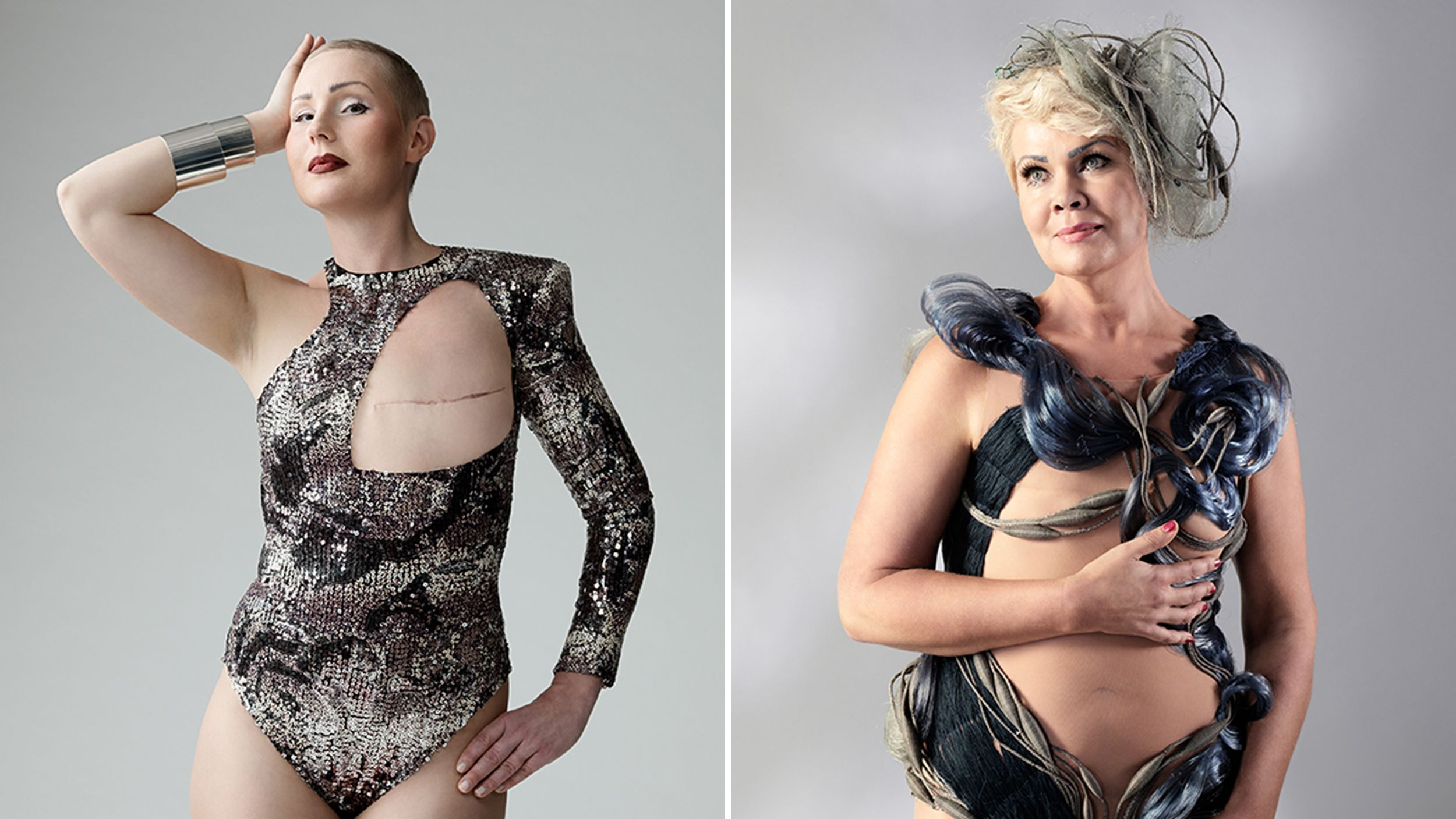 Mastectomy swimwear helps breast cancer survivors feel beautiful