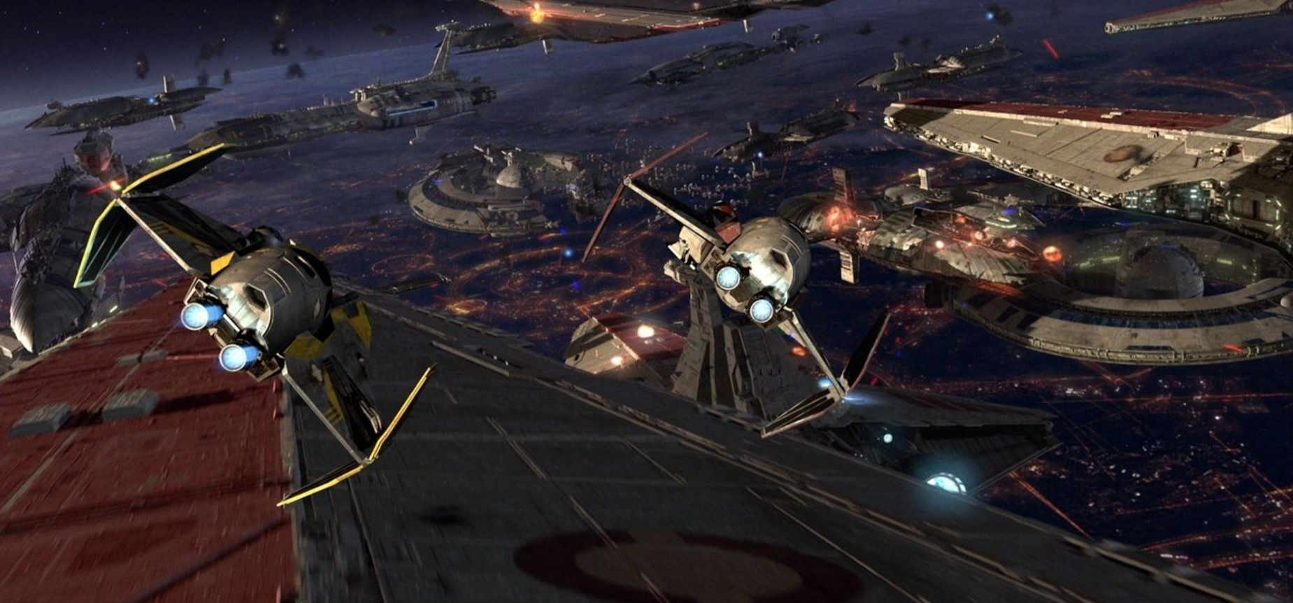 Star Wars Space Battle Wallpaper Star Wars History Star Wars