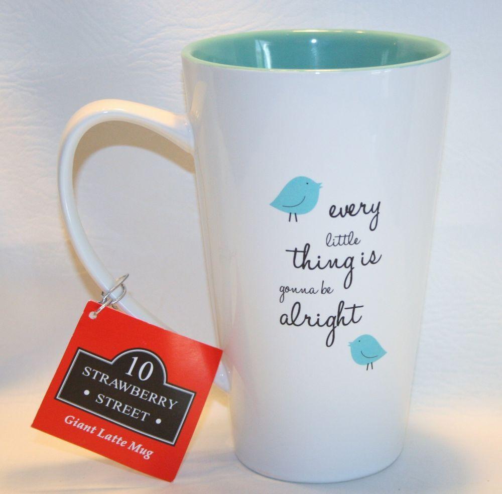 32 Oz Giant Coffee Mug Latte Cup By 10 Strawberry Street