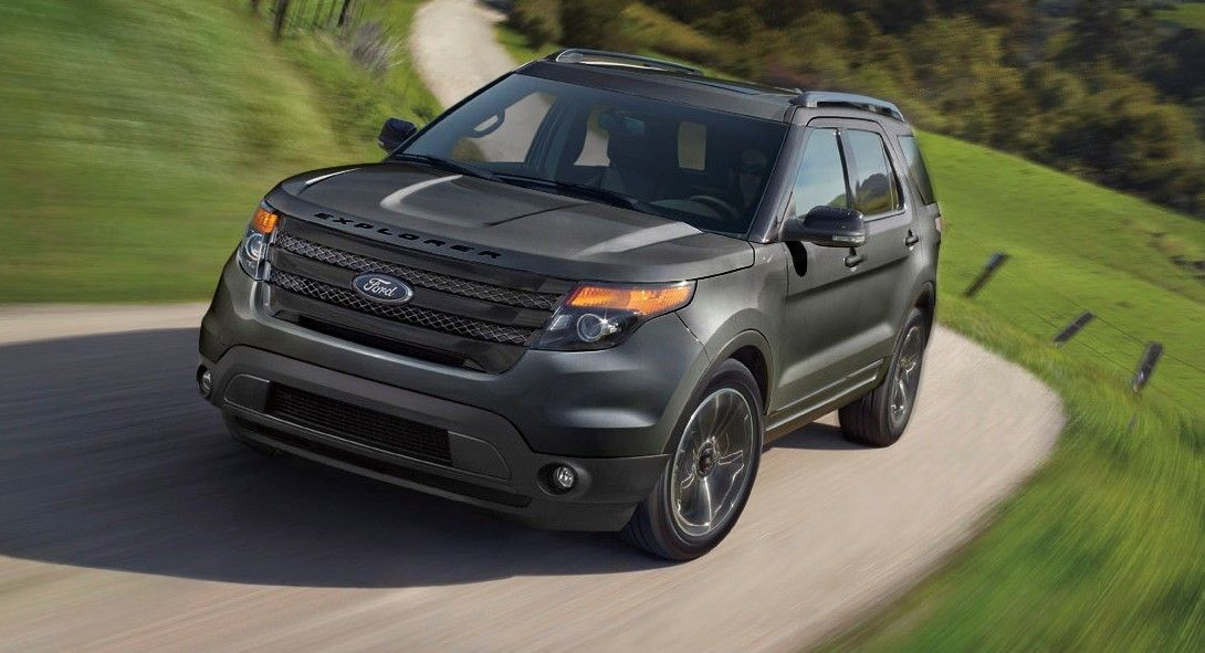 2015 Ford Explorer Xlt Appearance Pack Adds 2 0l Turbo Big Wheels And Dark Grey Black Trims Ford Explorer Xlt Ford Explorer 2015 Ford Explorer Sport