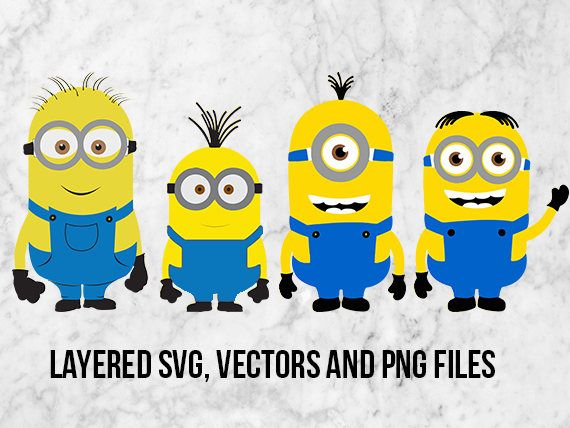 Despicable Me Minions Svg Minion Clipart Despicable Me Svg With