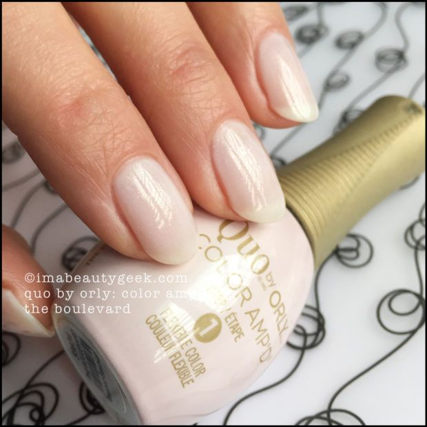 New Quo By Orly Color Amp D With Nail Pro Melissa Forrest Nail Polish White Nail Polish How To Do Nails