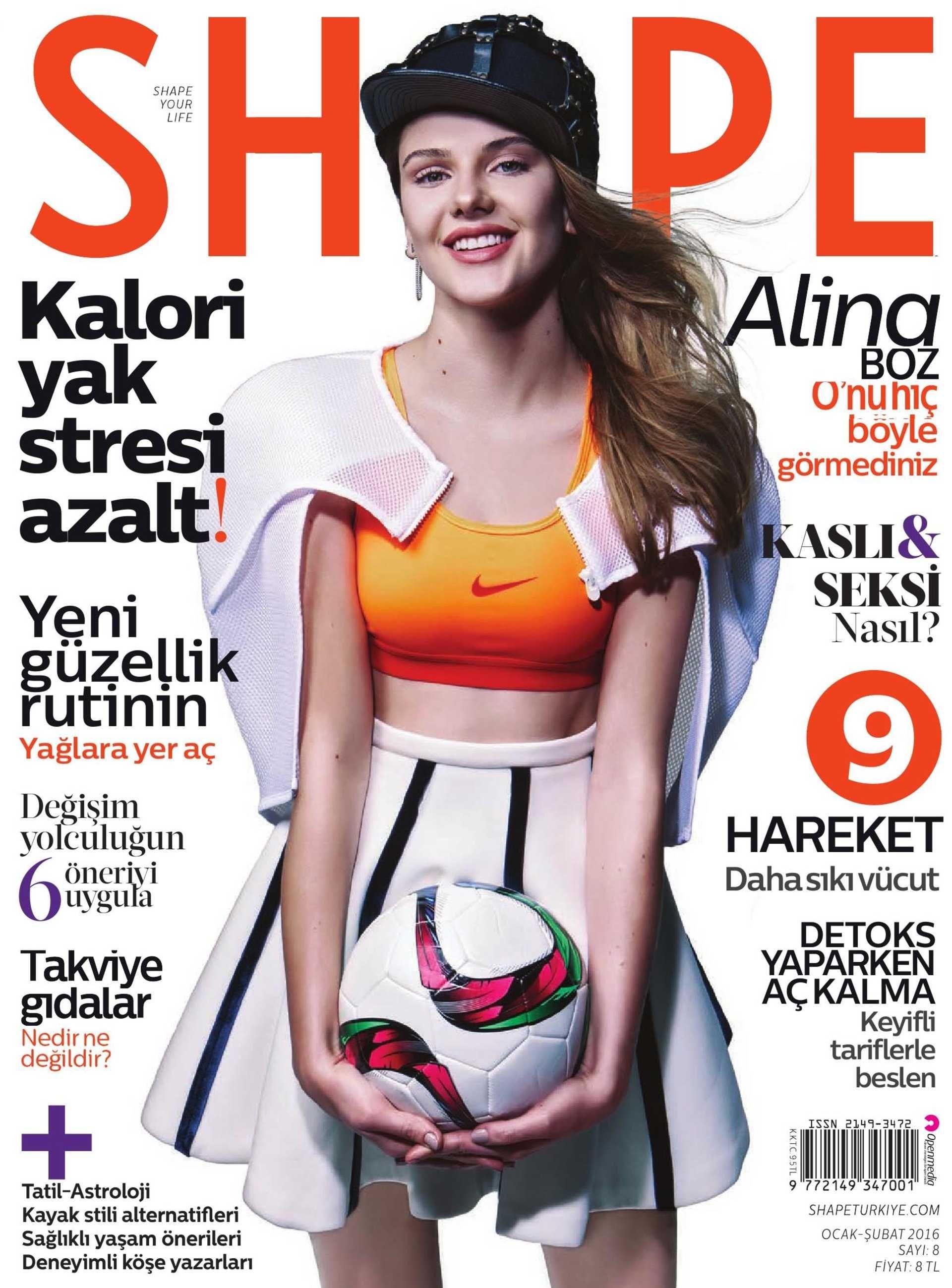 Shape Magazine Cover Editorial Ece Ozalp