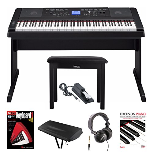 Yamaha Weighted Keys Piano With Knox Piano Bench Best Offer Instrumentstogo Com Digital Piano Digital Piano Keyboard Best Digital Piano