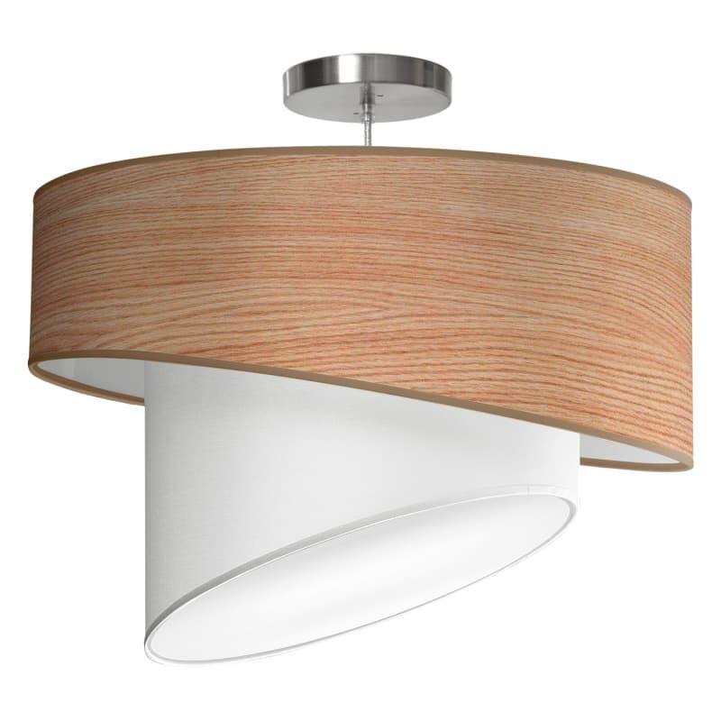 Seascape lamps twist pendant 18 twist 18 wide 1 light modern drum pendant with natural