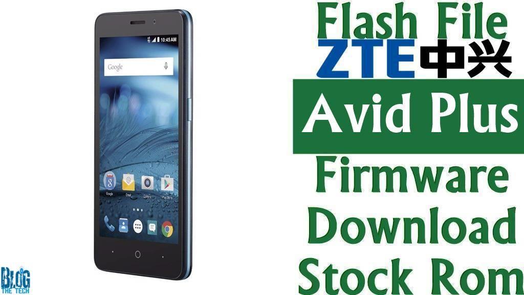Flash File] ZTE Avid Plus Firmware Download [Stock Rom] (Z828