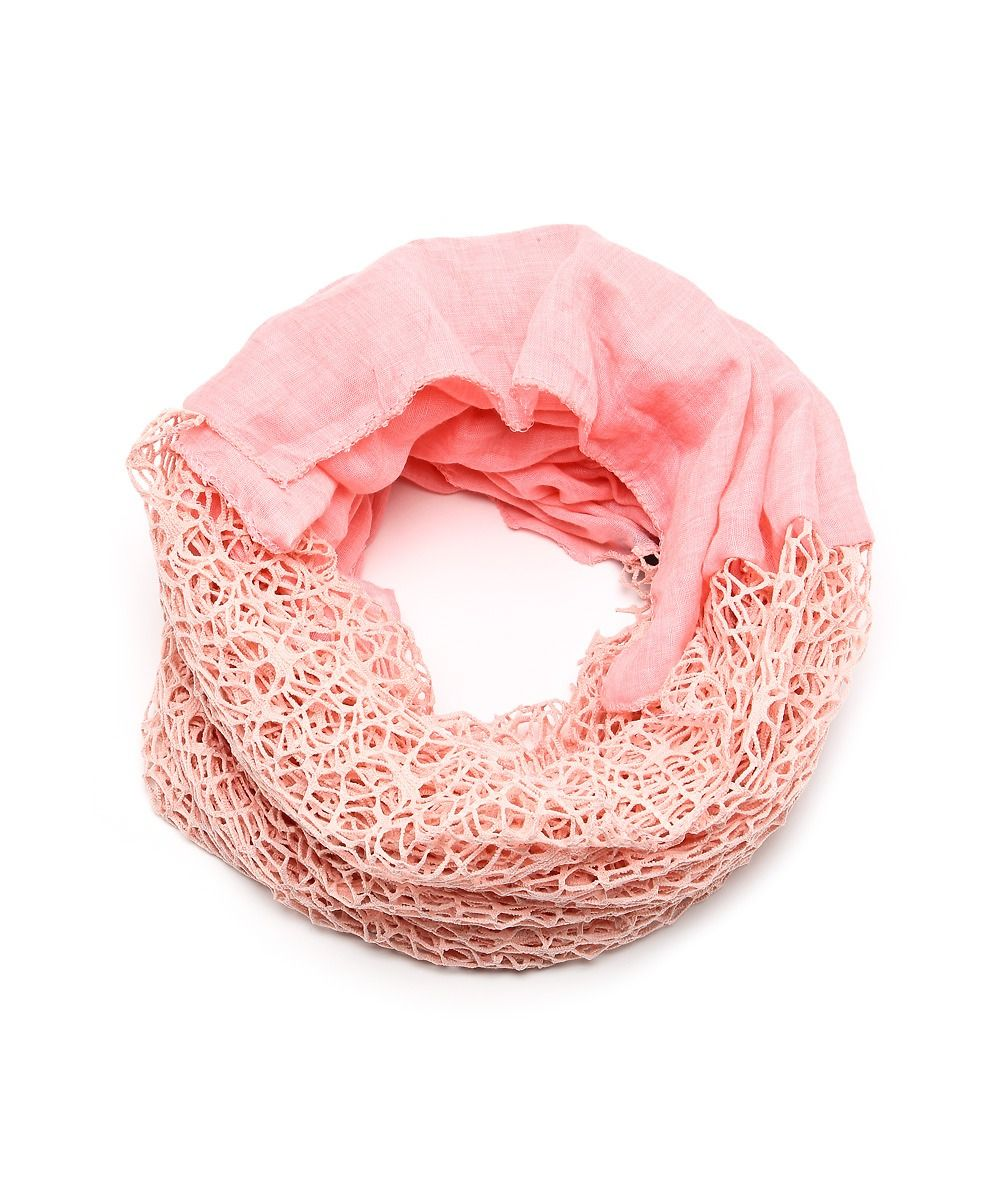 Netted Beauty Convertible Scarf - Pink