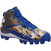 blue under armour baseball cleats