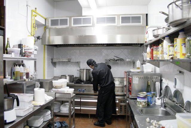 Cocinas de restaurantes peque os planos buscar con for Utensilios de cocina queretaro
