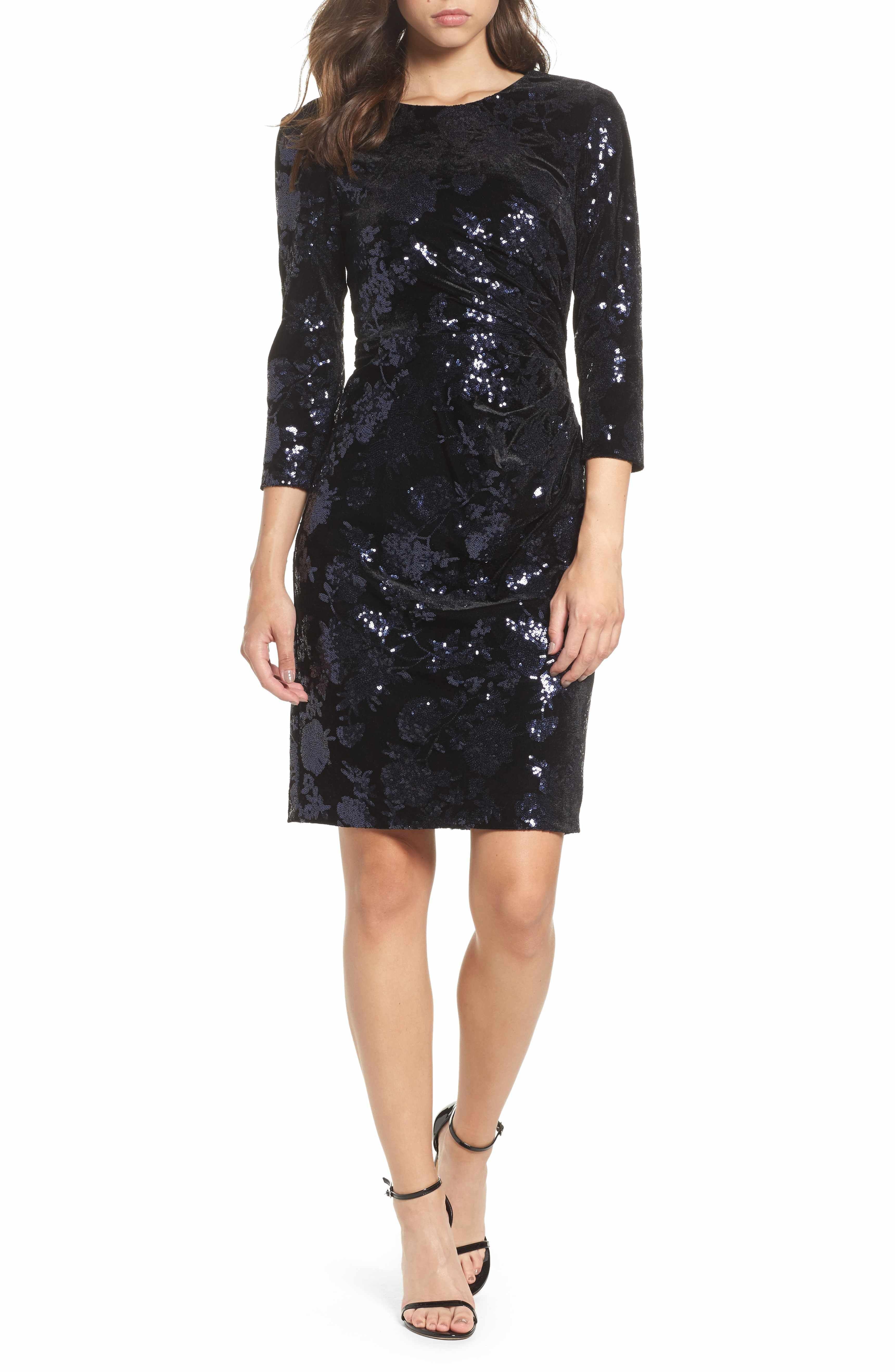 28++ Black sequin embellished dress ideas in 2021