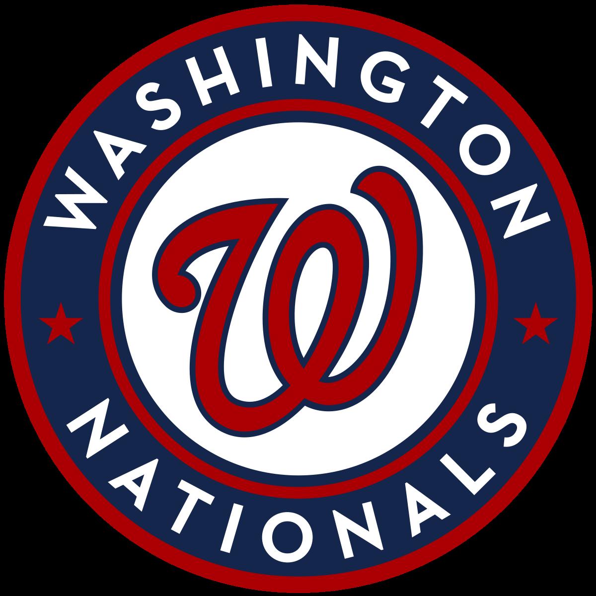 Washington Nationals in 2020 Washington nationals logo