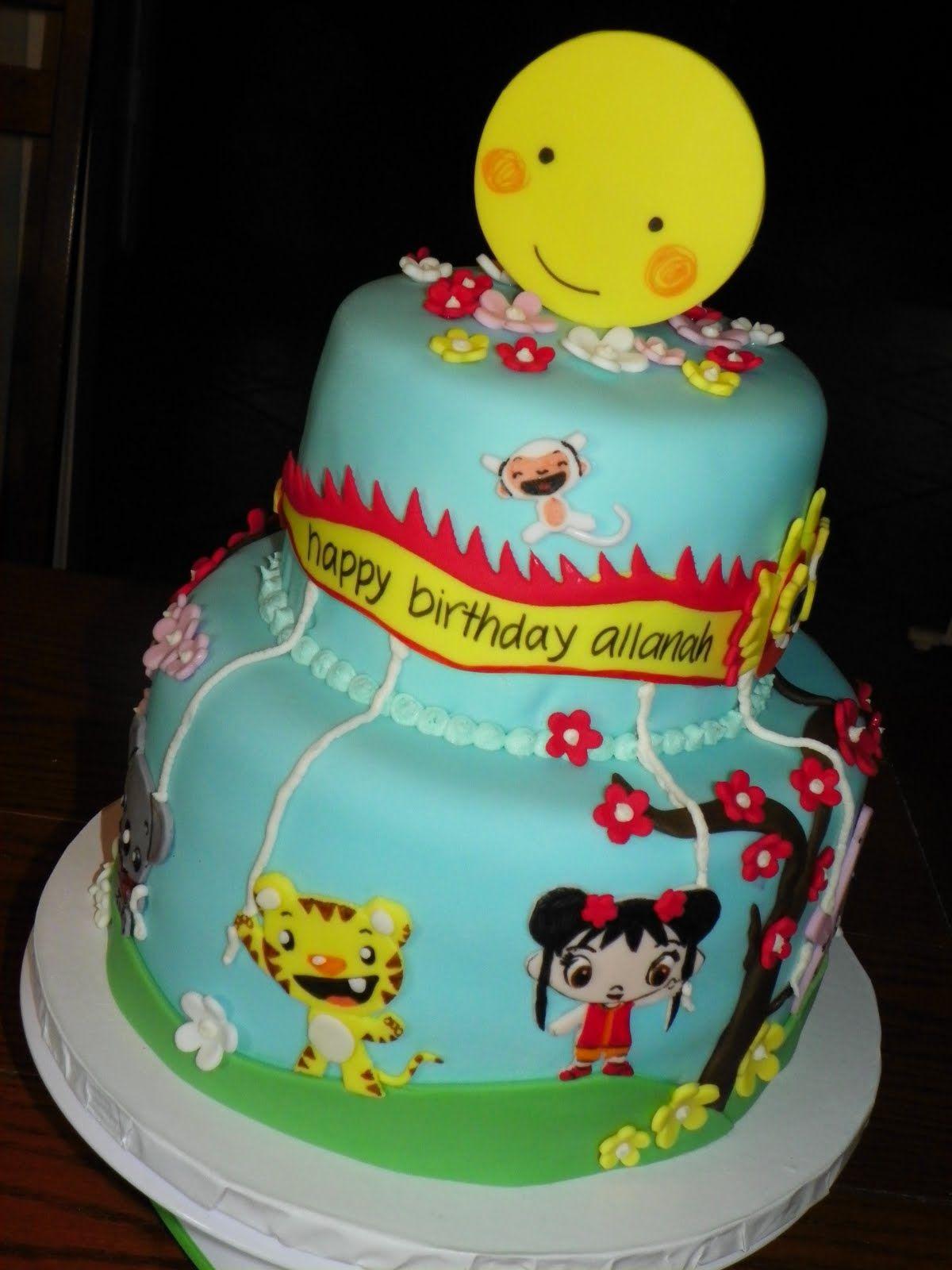 Ni Hao Kai Lan Birthday Cake 3 Allanah Love It Pinterest