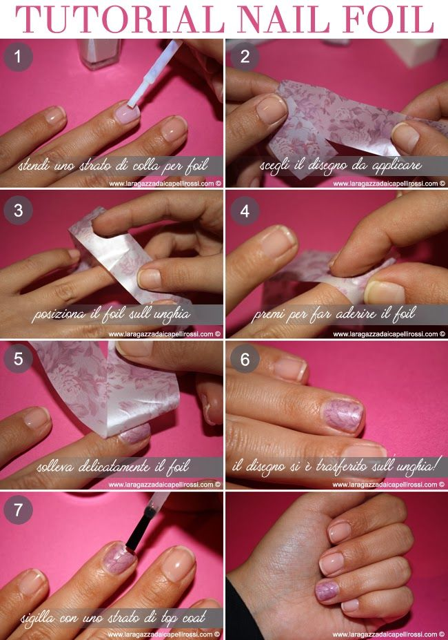 unghie gel passaggi