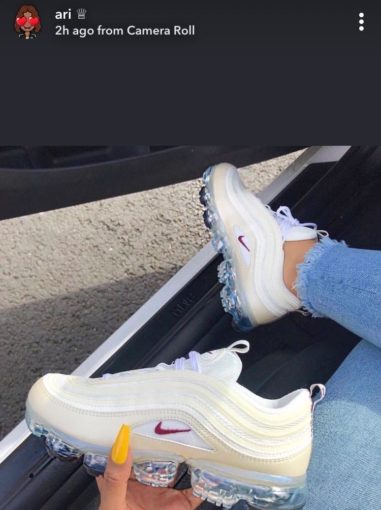 68328464c80dc Nike Air VaporMax 97 Cream Womens