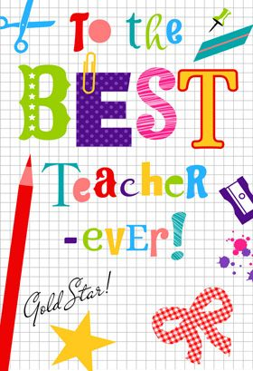 Thank You Teacher Thank You Card For Teacher Free Tarjeta De