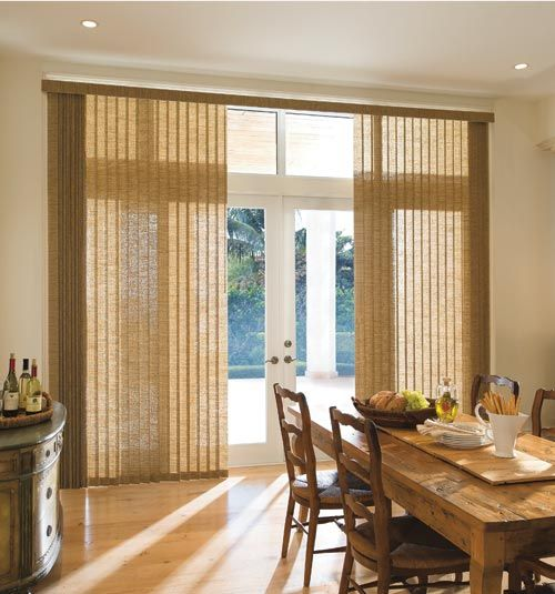 Levolor Fabric Vertical Blind In Origami Flax