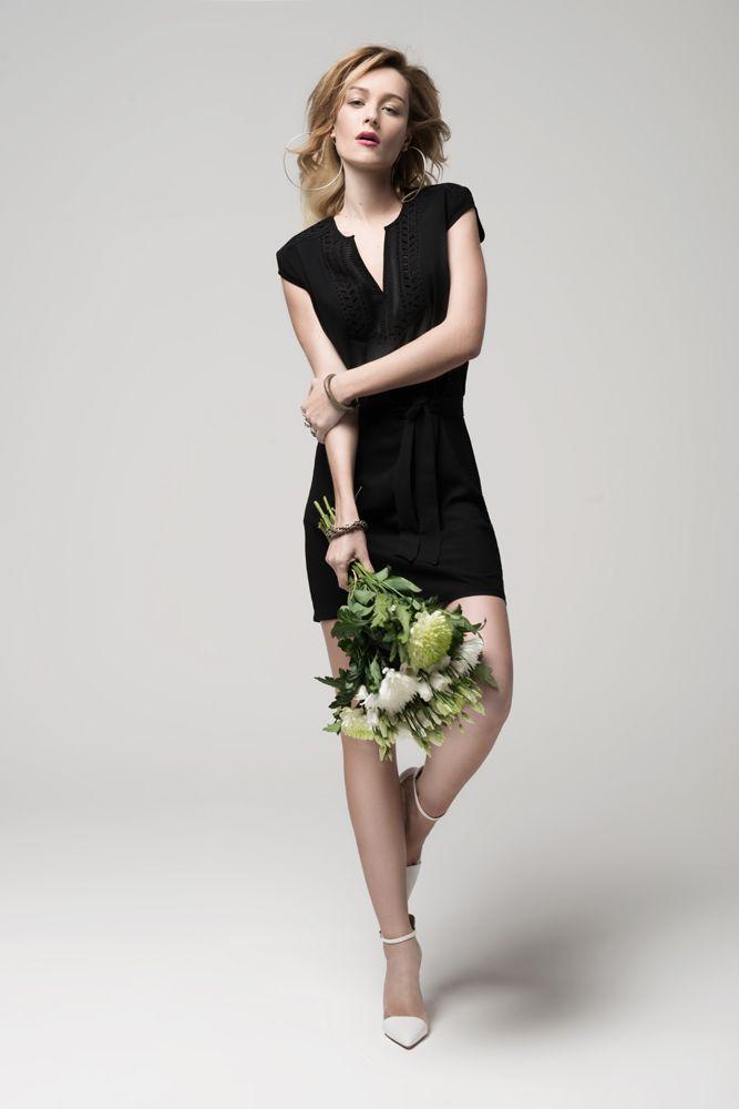 b3246021016 La petite robe noire LORIS By Elora. A porter en toutes occasions ...