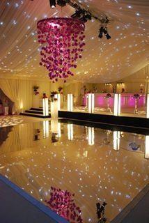 Mirror dance floor | Wedding Ball Party Feel | Pinterest