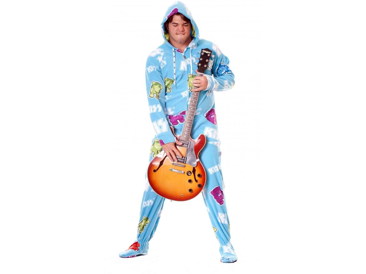 Buy KISS Cold Gin Adult Onesies PJ's | World's Best Pajama Store ...