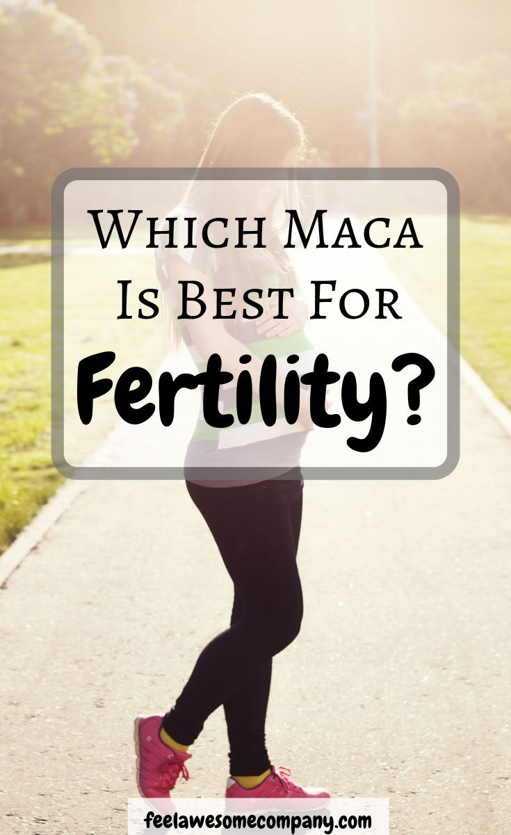 Taking maca to boost fertility has been practiced for ...