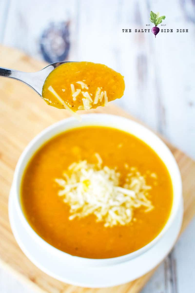 Butternut Squash Soup, a hearty and creamy winter squash soup that will  remind y… | Butter ut squash recipes, Butter ut squash soup, Butternut squash  soup