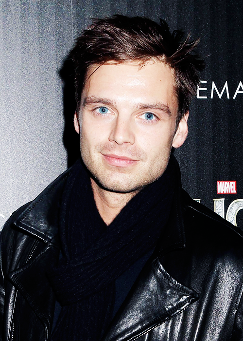 The Winter Soldier!!!! His eyes... They're so blue... I just...