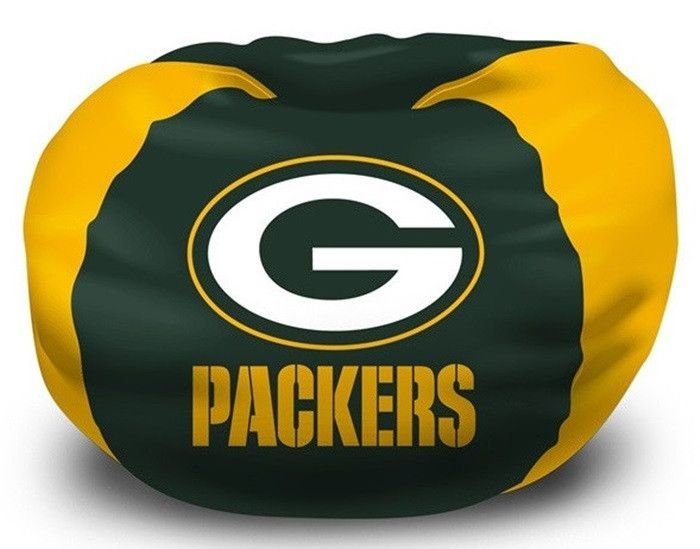 Brilliant Green Bay Packers Nfl Bean Bag Chair Sports Green Bay Evergreenethics Interior Chair Design Evergreenethicsorg