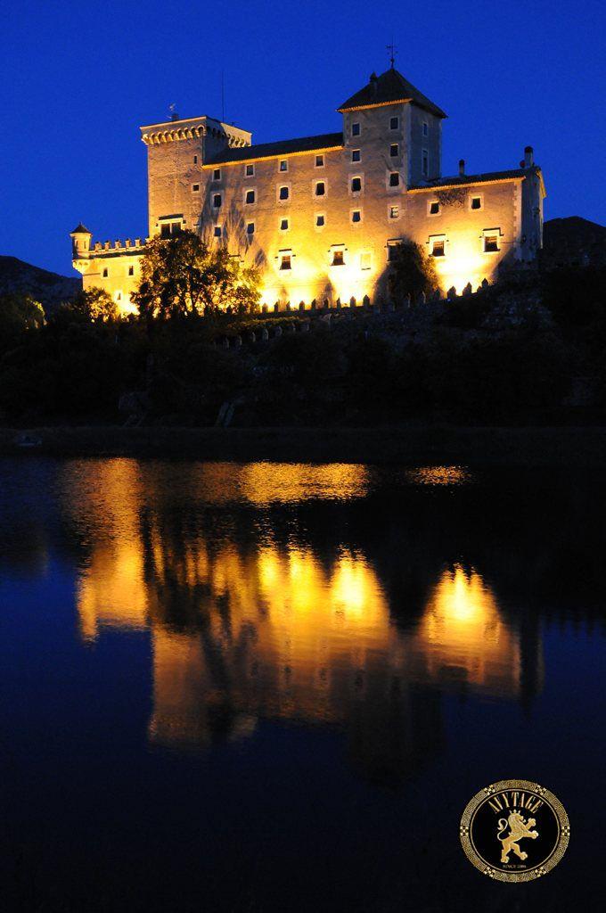 Wonderful castle in Spain