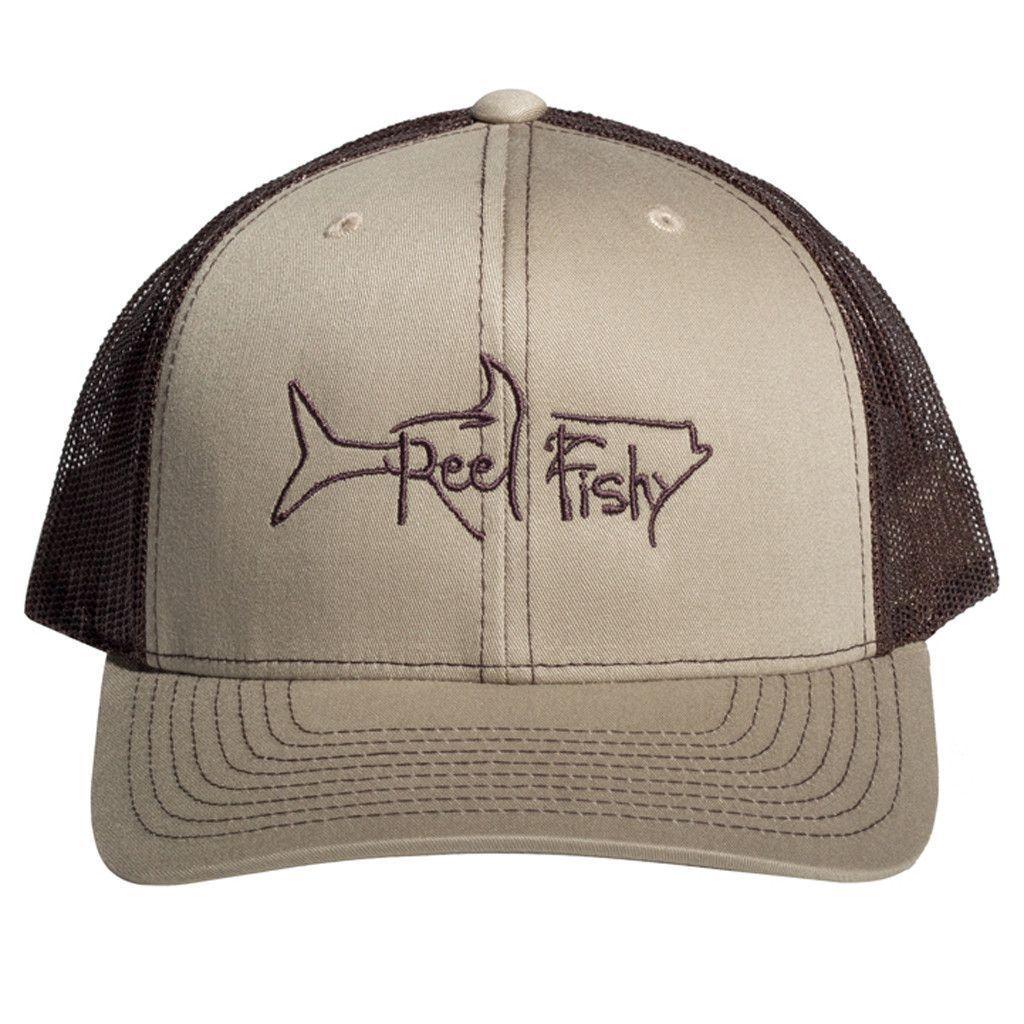 a2e6650744463 Tarpon Fishing Trucker Hats with Reel Fishy Logo. Tarpon