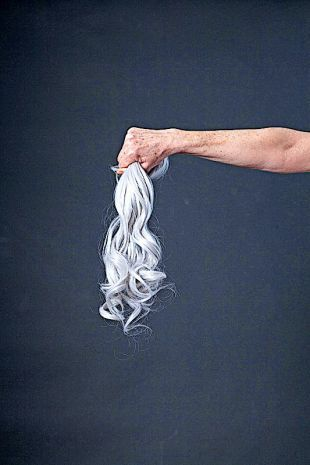 No matter the colour of your hair, hair extensions are available.
