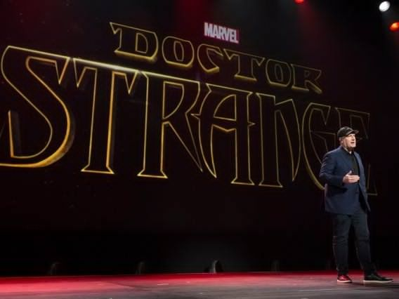 Doctor Strange   |||   We don't know many details about the film yet, but Doctor Strange (Cumberbatch) is a failed surgeon who is given a second chance after a sorcerer trains him to fight evil. The film will be released October 26, 2016.
