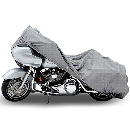 Motorcycle Bike 4 Layer Storage Cover Heavy Duty For Harley Xl Sportster 1200 Custom Click Image For More Bike Accesories Bike Accessories Motorcycle Cover