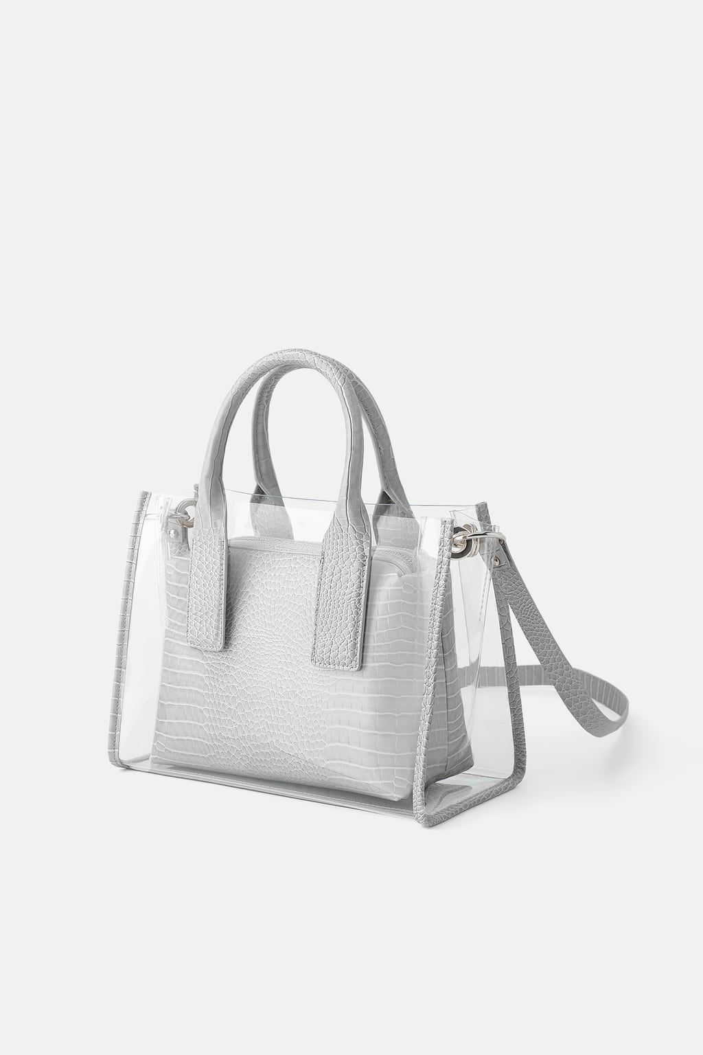 c71d0b357164 Animal print vinyl city bag in 2019 | Zara | City bag, Bags, Animals