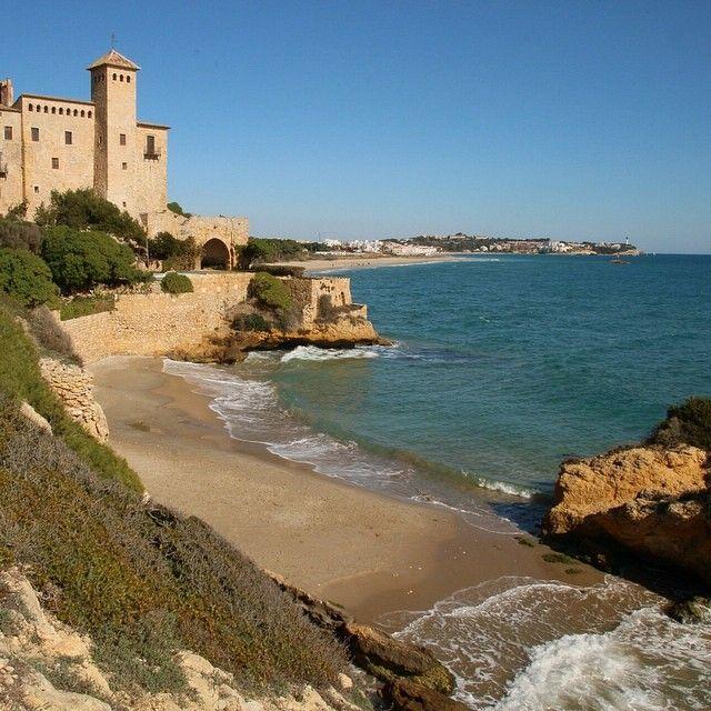 El castell de tamarit i cala jovera fotografia drm - Tolder tarragona ...