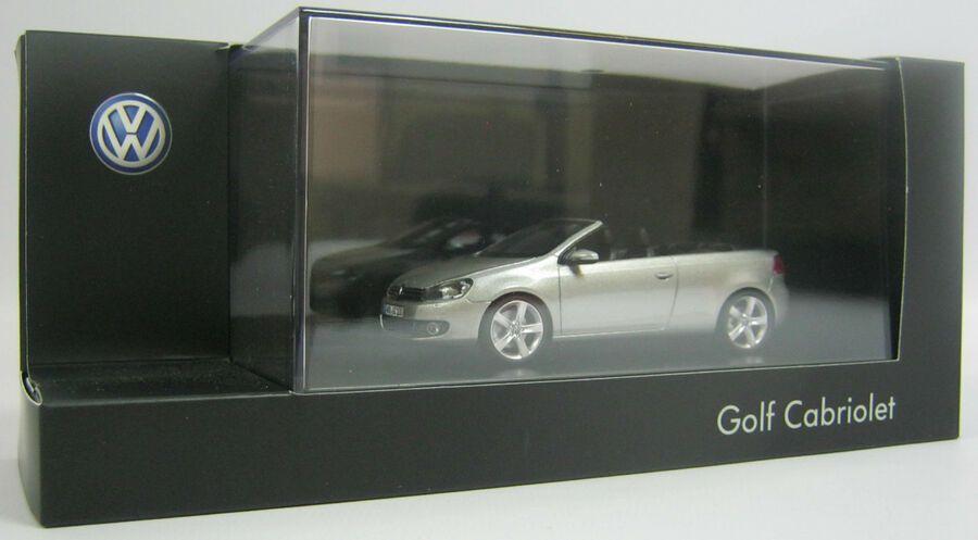 New Genuine Vw Golf Mk6 Cabriolet Tungsten Silver 1 43 Scale