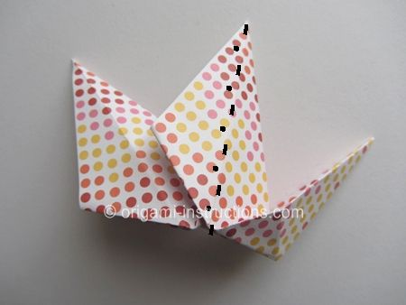 Origami Modular Roulette Step 12