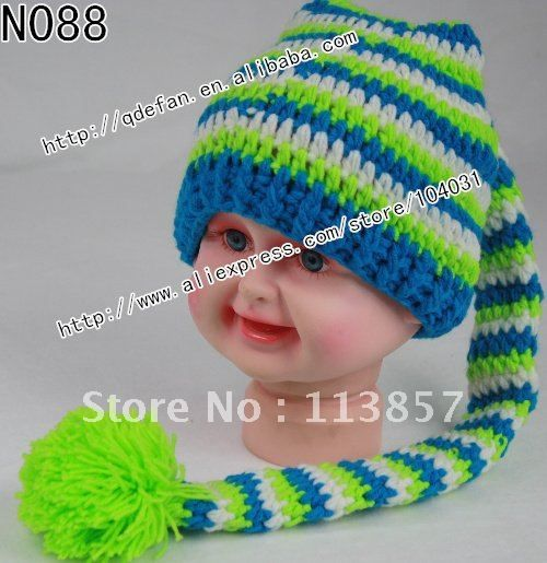 Free Crochet Boys Hat Patterns | ... Cotton Animal Hat Knitting ...
