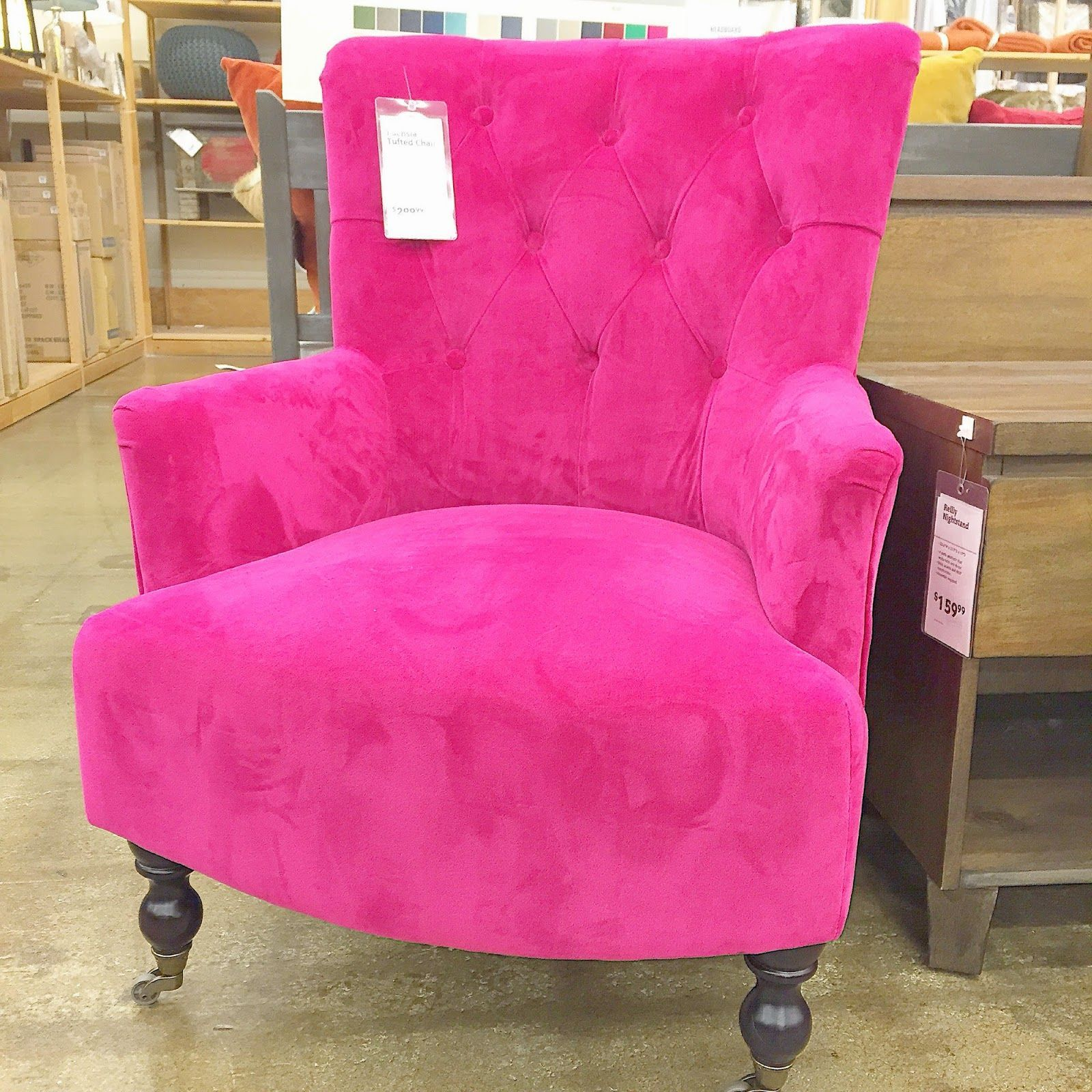 World Market Pink Velvet Office Chair Obsessed Pinkchair