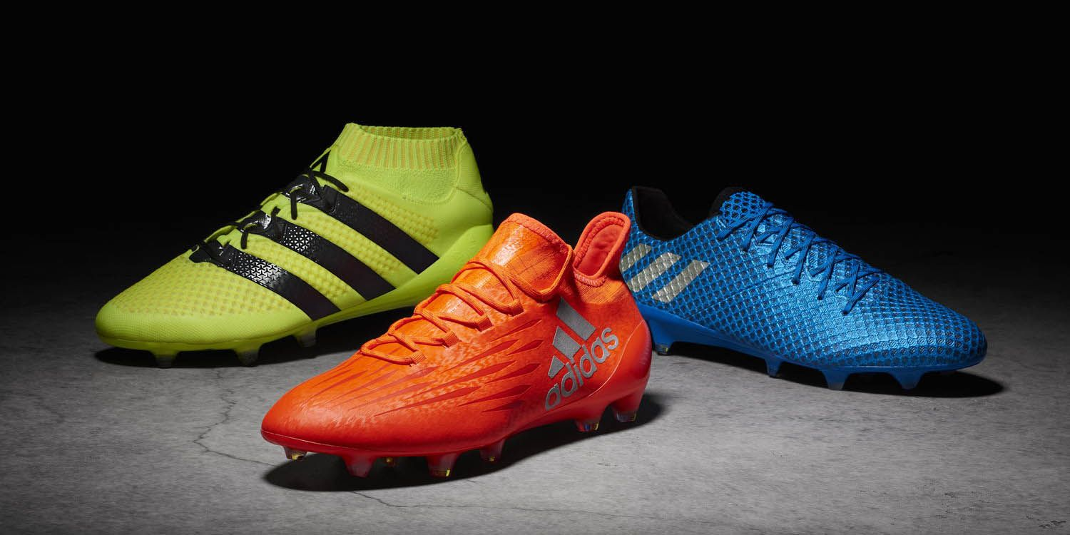 0bc8ca85237f The Adidas Speed of Light 2016-2017 Football Boots Pack brings bright  designs to the 2016-2017 season.