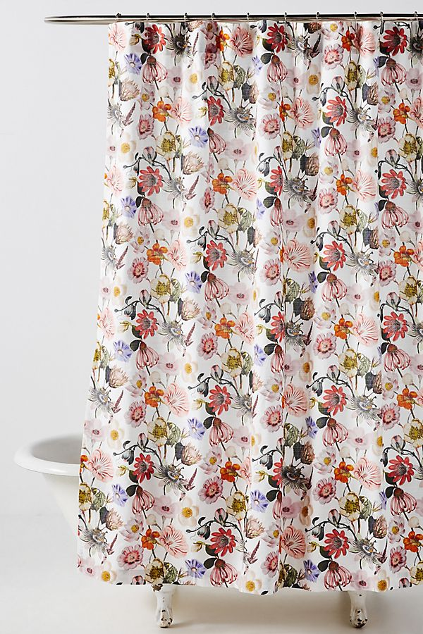 Daisy Shower Curtain In 2020 Boho Shower Curtain Boho Shower