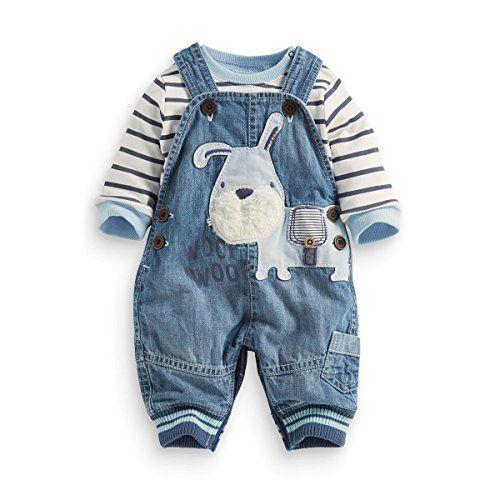 fc536fa85e80 LvYinLi US Baby Boy Clothes Boys  Romper Jumpsuit Overalls Stripe Rompers  Sets (3-