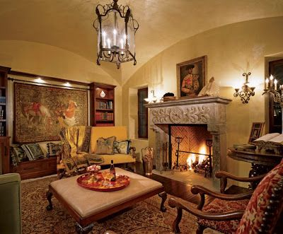 Decor to adore spanish colonial interiors spanish for Spanish revival interior design