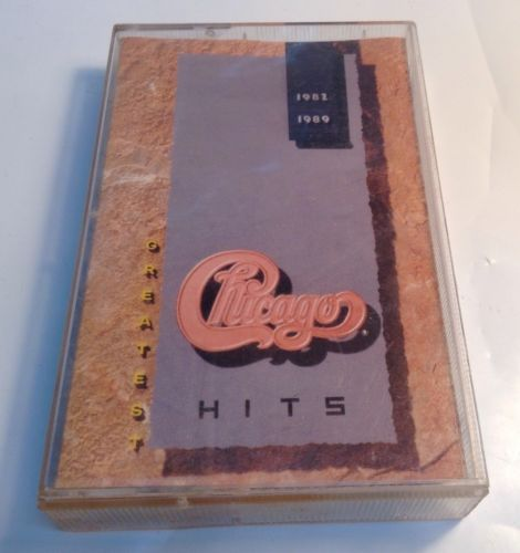 Greatest Hits 1982-1989 by Chicago (Cassette, Nov-1989, Reprise)