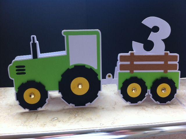 3rd Birthday John Deere Tractor Cricut Pinterest Birthday