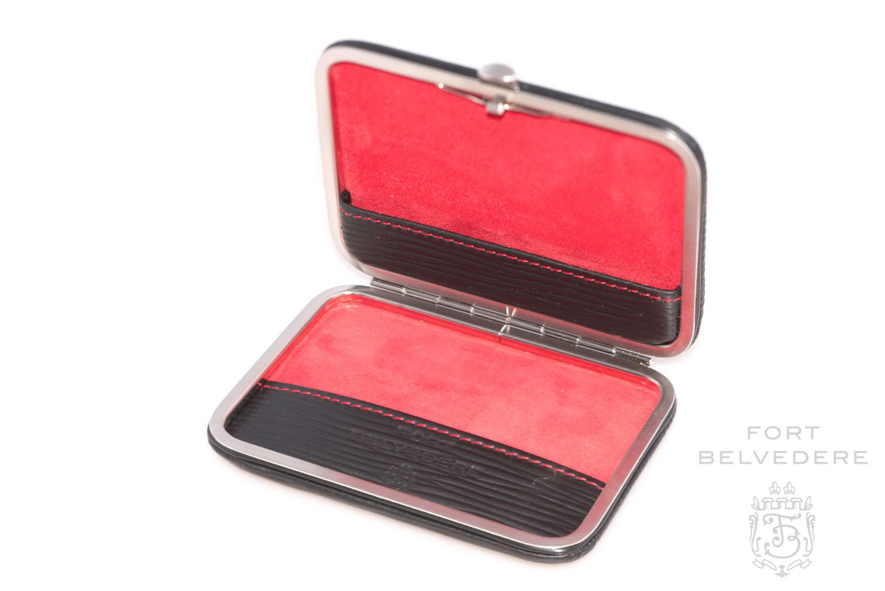 Business Card Case for Men in Leather by Fort Belvedere | Leather ...