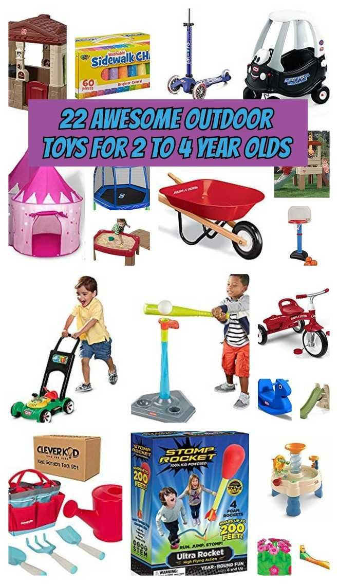 Outdoor Toys for 2 to 4 Year Olds 4 year old toys, 2